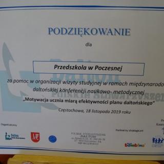 Daltońska Konferencja naukowo -metodyczna w Częstochowie. - zdjęcie 16