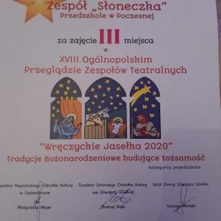 Wręczyckie Jasełka 2020r. - zdjęcie 1